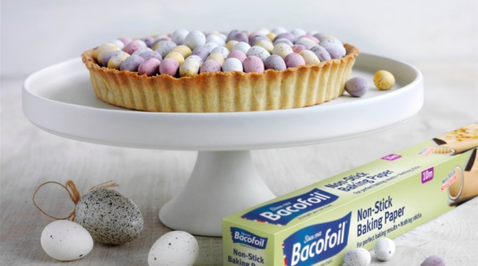 Bacofoil®Mini Egg Chocolate Tart recipe